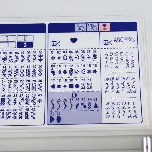 Masina de cusut casnica computerizata Juki HZL-F400/CE3